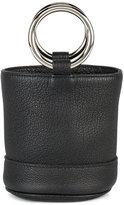 Simon Miller Mini Smooth Black Bonsai 15 bucket bag