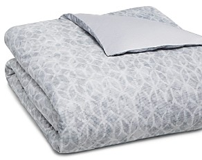 Hudson Park Collection Hudson Park Diffused Geo Duvet Cover, Queen - 100% Exclusive