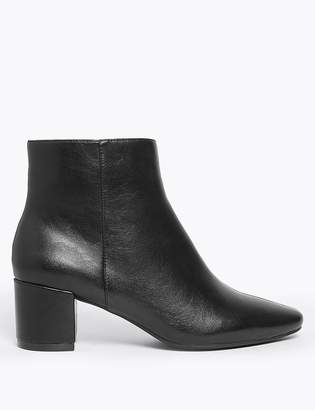 M&S CollectionMarks and Spencer Block Heel Ankle Boots