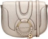 See by Chloe Hana Media Shoulder Bag In Platinum Leather