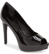 Charles by Charles David 'Fox' Platform Peep Toe Pump (Women)