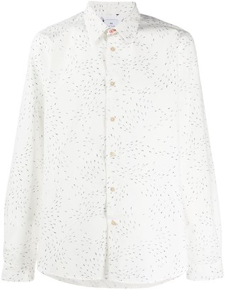 Paul Smith Weather Arrows Print Fitted Shirt