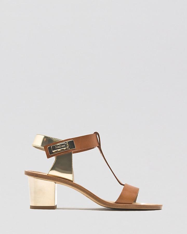 Max Mara Sandals - Virgin Mid Heel