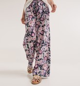 Promod Wideleg patterned trousers