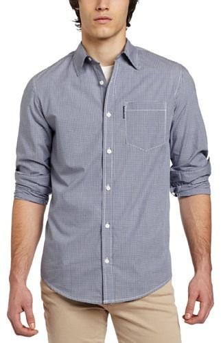 Ecko Unlimited unltd. Men's Andover Plaid Long Sleeve Shirt