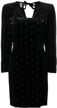 Emanuel Ungaro Pre Owned 1980's Structured Dress