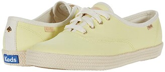 Keds x kate spade new york Champion Neon Canvas (Pink Canvas) Women's Shoes