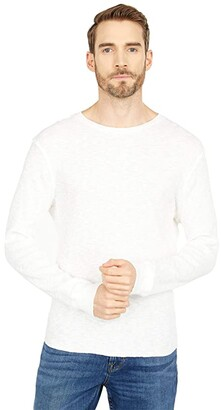 Lucky Brand Thermal Crew (Marshmallow) Men's Clothing