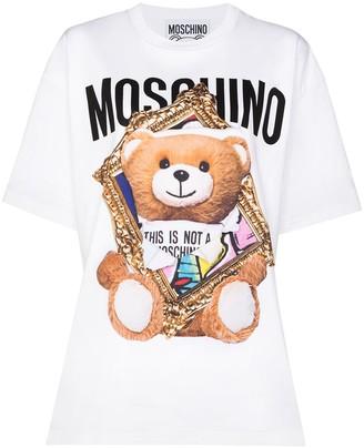 Moschino Frame Teddy Bear crew-neck T-shirt