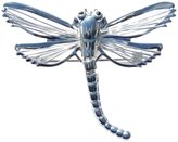 Best Lead-Free Shiny Silver Flexible Tail Wire Dragonfly Slide Pendant / Brooch - Animal Theme Fashion Jewelry