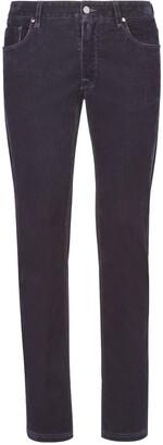 Fendi Low-Rise Slim-Fit Jeans