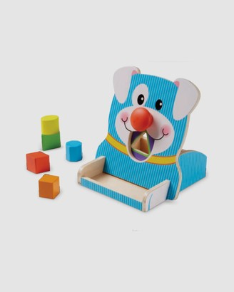 Melissa & Doug Blue Pre-school & Toddler - First Play - Spin Feed Shape Sorter - Size One Size at The Iconic