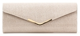 Lulu Townsend Metal Bar Flap Clutch