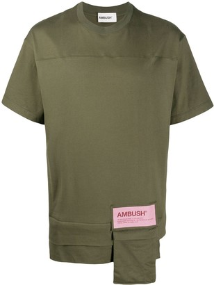 Ambush patch pocket cotton T-shirt