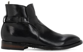 Officine Creative Emory Buckled Leather Boots