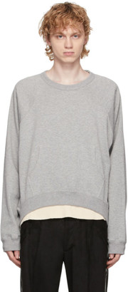 SASQUATCHfabrix. Grey Layered Sweatshirt