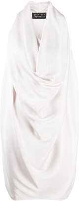 Gianluca Capannolo Draped Cowl Dress