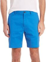 Lenor Romano Stretch-Cotton Shorts