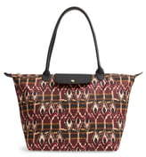 longchamp red leather tote bags shopstyleLongchamp C 13 #20