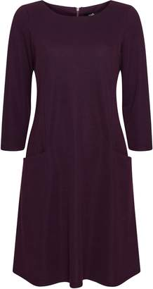 Wallis Purple Pocket Detail Swing Dress