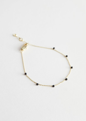 And other stories Gemstone Pendant Chain Bracelet