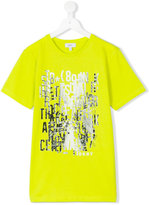 DKNY Teen printed T-shirt - kids - Cotton - 14 yrs