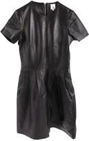 Iris & Ink Black Leather Dress for Women