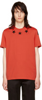Givenchy Red Stars 74 Shirt