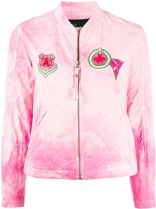 Mr & Mrs Italy Embroidered Patch Jacket