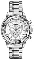 Versace Versus Women's Quartz Watch with Silver Dial Analogue Display and Silver Stainless Steel Bracelet SGN01 0013