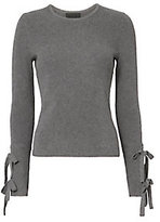 Exclusive for Intermix Jordana Tie Sleeve Rib Knit