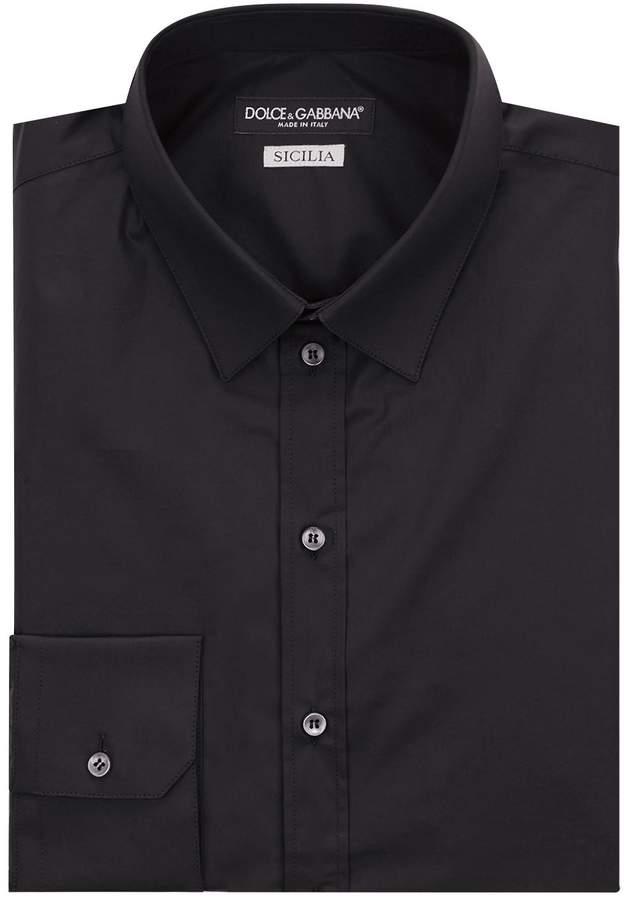 Dolce & Gabbana Slim-Fit Cotton Shirt