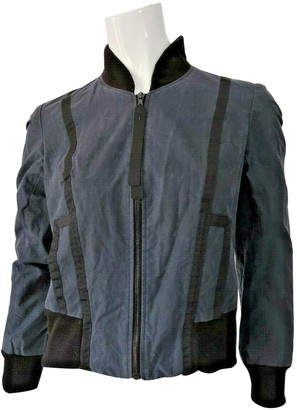 Christopher Raeburn Blue Cotton Jacket for Women