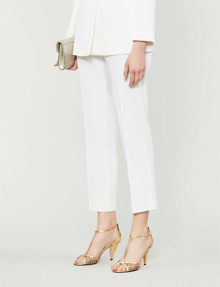 Sandro Jens stretch-crepe trousers