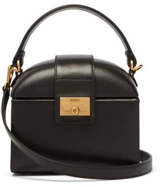 Rodo Trunk Leather Cross-body Bag - Black