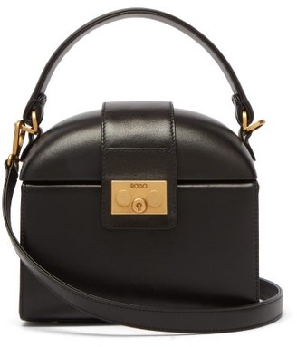 Rodo Trunk Leather Cross-body Bag - Womens - Black