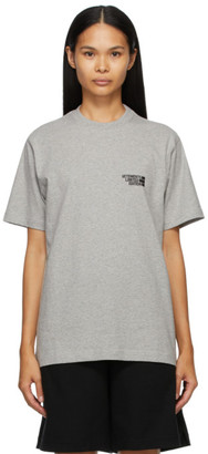 Vetements Grey Limited Edition Logo T-Shirt