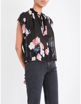 Ulla Johnson Saadi neck-tie silk-chiffon blouse