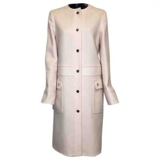 Salvatore Ferragamo Pink Wool Coat for Women