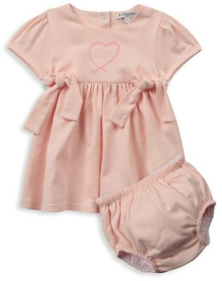 Givenchy Baby Girl's 2-Piece Love A-Line Dress & Bloomers Set
