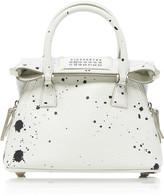 Maison Margiela 5AC Painted Textured-Leather Shoulder Bag