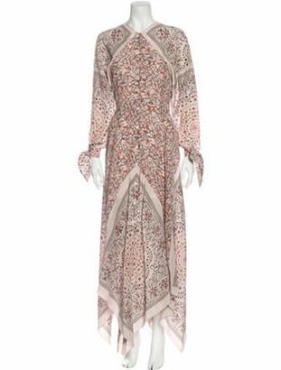 Altuzarra Silk Long Dress w/ Tags Pink