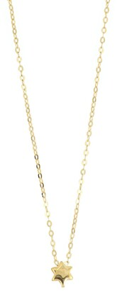 Bony Levy 14K Yellow Gold Star Pendant Necklace