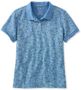 L.L. Bean Premium Double L Polo, Relaxed Fit Floral