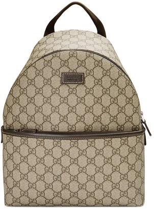 Gucci Kids Children's GG supreme backpack