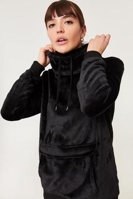 Ardene Oversized Fleece Cowl Neck Sweatshirt