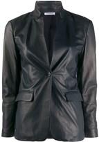 P.A.R.O.S.H. Panelled Single-Breasted Blazer
