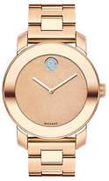 Movado Bold Analog Bold Rose Goldtone Watch