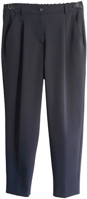 Scaglione Blue Trousers for Women