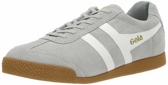 Gola Men's Harrier Suede Trainers (Light Grey/White Go) 6 (40 EU)